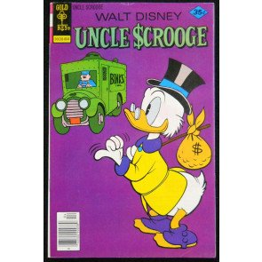 UNCLE SCROOGE #'s 150, 151, 152, 153, 154, 155, 156 COMPLETE LOT OF 7 BOOKS