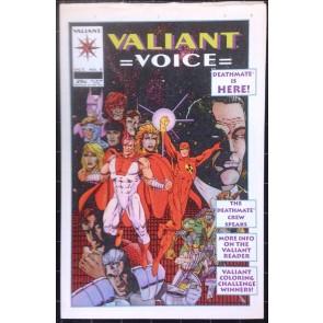 Valiant Voice #5 Deathmate Image Comics
