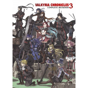 VALKYRIA CHRONICLES #3 COMPLETE ARTWORKS SEALED UDON ENTERTAINMENT SEGA