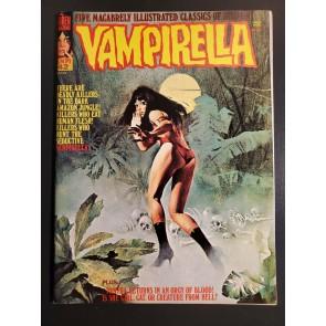 VAMPIRELLA #42 (1975) VFNM (9.0) Warren Horror Magazine great painted cover|