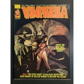 VAMPIRELLA #38 (1974) VF+ (8.5) Warren Horror Magazine 2nd Cleopatra high grade|