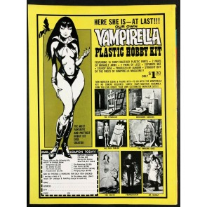 Vampirella Annual #1 (1972) FN+ (6.5) New definitive Origin By Gonzales