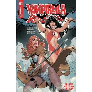 Vampirella/Red Sonja (2019) #1 VF/NM Terry Dodson Cover Dynamite