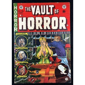 Vault Of Horror (1950) #35 VG/FN (5.0) Christmas Cover EC Comics