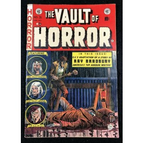 Vault Of Horror (1950) #31 VG+ (4.5) Ray Bradbury Story EC Comics