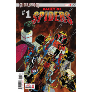 Vault of Spiders (2018) #1 VF/NM Giuseppe Camuncoli Regular Cover