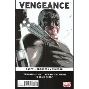 VENGEANCE #2 OF 6 NM BULLSEYE COVER