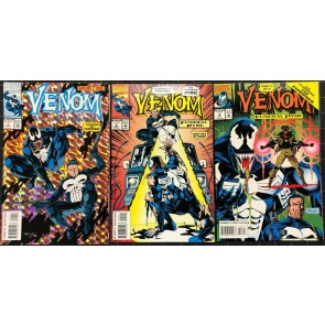 Venom (1993) Lethal Protector Funeral Pyre Enemy Within 3 complete sets 12 books