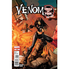 Venom (2011) #13.2 VF+ Circle of Four Part 3 X-23 Cover