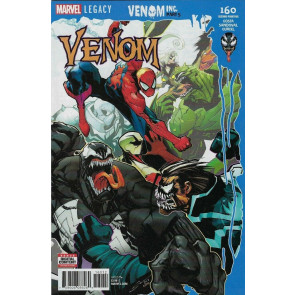Venom (2016) #160 VF/NM 2nd Printing Venom Inc Part 5
