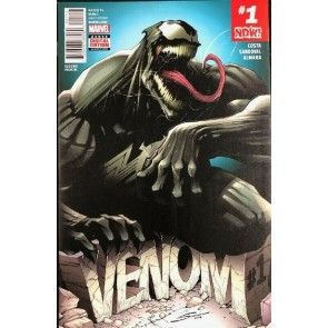 Venom (2017) #1 VF/NM Blue 2nd Printing Gerardo Sandoval Variant Cover