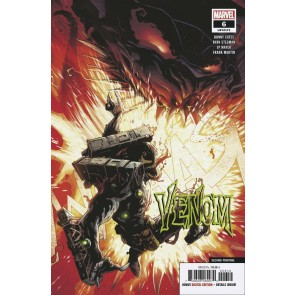 Venom (2018) #6 VF/NM Ryan Stegman 2nd Printing Cover Donny Cates Knull