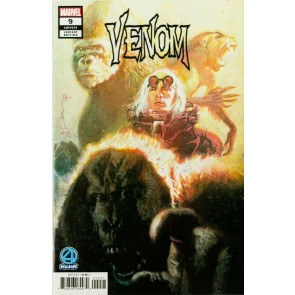 Venom (2018) #9 VF/NM Red Ghost Fantastic Four Villains Variant Cover