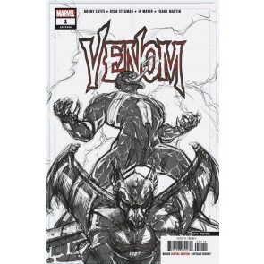 Venom (2018) #1 VF/NM Ryan Stegman 5th Printing Cover Donny Cates
