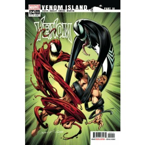 Venom (2018) #24 VF/NM Mark Bagley Cover Venom Island Part 4
