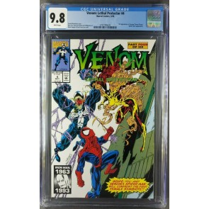 VENOM LETHAL PROTECTOR 4 CGC 9.8 WHITE 1ST APPEARANCE SCREAM (3701795020) |