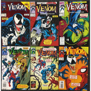 Venom Lot of 29 comics 5 complete sets Lethal Protector Sinner Takes All Mace