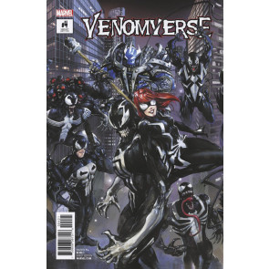 Venomverse (2017) #4 VF/NM (9.0) Crain connecting cover variant