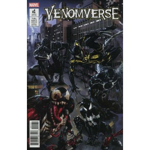 Venomverse (2017) #1 of 5 VF/NM Clayton Crain Connecting Cover Variant