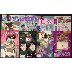 Vertigo Pop (2002) (2003) #1 2 3 4 Tokyo & London two complete set
