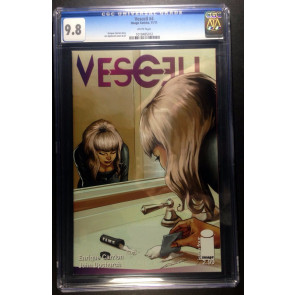 Vescell (2011) #4 CGC 9.8 cocaine snorting cover Image Comics (1018485012)