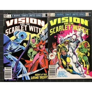 Vision and Scarlet Witch (1982) #1 2 3 4 FN+ (6.5) complete set Avengers