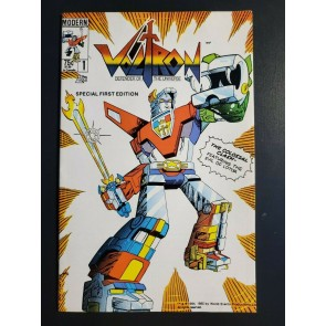 Voltron #1 (1985) Modern Comics NM 1st App Voltron in US Comics Key issue|