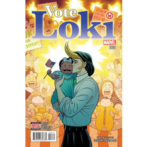 Vote Loki (2016) #3 VF/NM