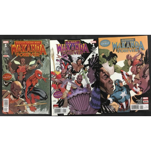 Wakanda Forever (2018) Chapter 1 2 3 story arc VF/NM Spider-Man X-Men Avengers