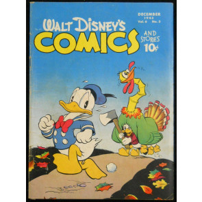 WALT DISNEY'S COMICS & STORIES #'s 63 & 67 CARL BARKS 1945 1946 DONALD DUCK