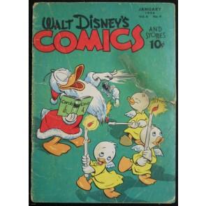 WALT DISNEY'S COMICS & STORIES #'s 64, 65 & 71 CARL BARKS DONALD DUCK
