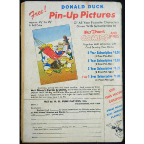 WALT DISNEY'S COMICS & STORIES #'s 83, 114, 117 CARL BARKS DONALD DUCK