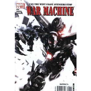WAR MACHINE #8 NM IRON MAN