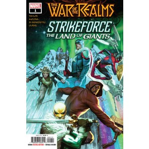War of the Realms Strikeforce: The Land of Giants (2019) #1 VF/NM