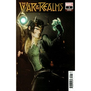 War of the Realms (2019) #3 VF/NM Victor Hugo 1:25 Loki Variant Cover