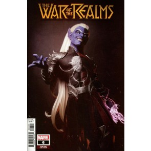 War of the Realms (2019) #6 VF/NM Victor Hugo 1:25 Malekith Variant Cover