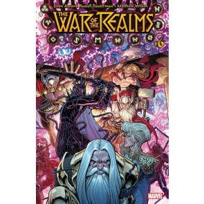 War of the Realms (2019) #6 VF/NM Arthur Adams Cover