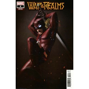 War of the Realms (2019) #4 VF/NM Victor Hugo 1:25 Daredevil Variant Cover