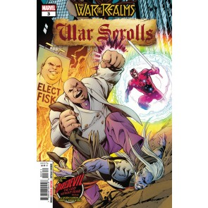War of the Realms: War Scrolls (2019) #2 of 3 VF/NM Alan Davis Cover