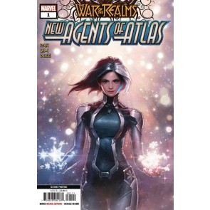 War of the Realms: New Agents of Atlas (2019) #1 VF/NM-NM 2nd Printing Variant