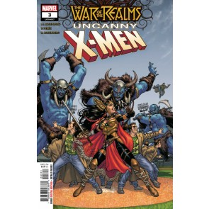 War of the Realms: Uncanny X-Men (2019) #3 (#637) VF/NM