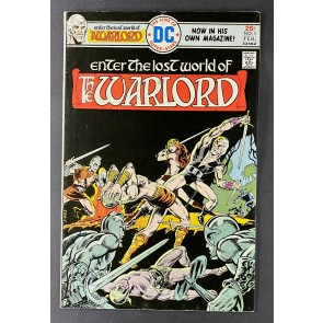 Warlord (1976) #1 FN+ (6.5) Mike Grell Cover & Art