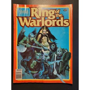 Warren Presents: Ring Of The Warlords # 1 1979 Comic Magazine Horror VG/F (5.0)|