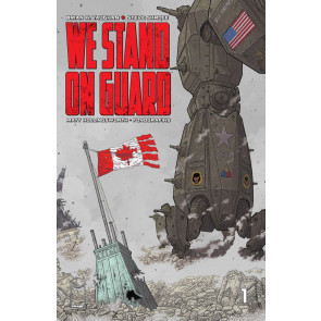 We Stand On Guard (2015) #1 VF/NM Brian K. Vaughan Image Comics