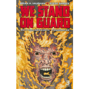 WE STAND ON GUARD (2015) #3 VF+- VF/NM BRIAN K. VAUGHAN IMAGE COMICS