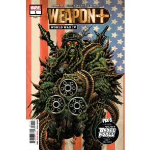 Weapon Plus: World War IV (2020) #1 VF/NM-NM 1st Man-Slaughter Appearance