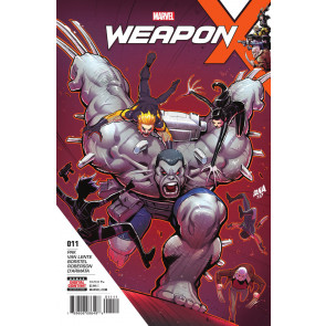 Weapon X (2017) #11 VF/NM Weapon H