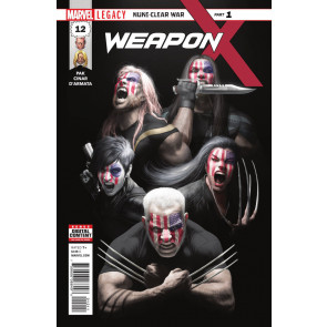 Weapon X (2017) #12 VF/NM