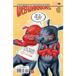 WEB-WARRIORS (2015) #9 VF/NM Protectors of the Spider-Verse