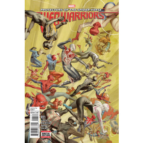 WEB-WARRIORS (2015) #11 VF/NM Protectors of the Spider-Verse Final Issue